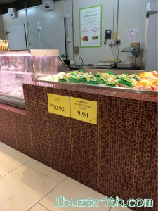 Harga ayam kampung hanya RM 10.90/kg selalunya RM 13/kg